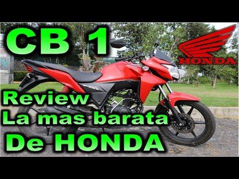 Prueba HONDA CB1 110 CC |Review en Español con Blitz Rider