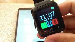 How to pair U8 Smartwatch to Huawei Phone