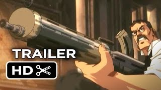 War of the Worlds Goliath Official Trailer 1 (2014) - Animated Sci-Fi Movie HD