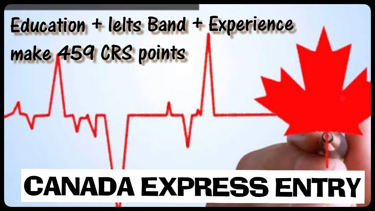 How To Calculate CRS POINTS| EXPRESS ENTRY POINTS calculator explain in  hindi || by IMMIGRATION news