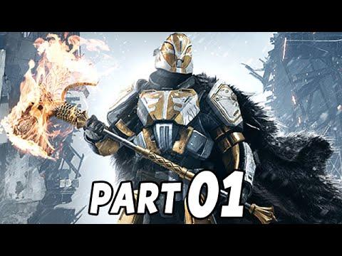 Let's Play Destiny Rise of Iron Gameplay German Deutsch Part 1 - Es beginnt von neuem !