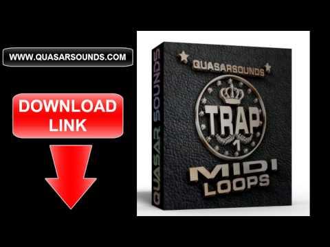 TRAP MIDI LOOPS   HIP HOP MIDI FILES