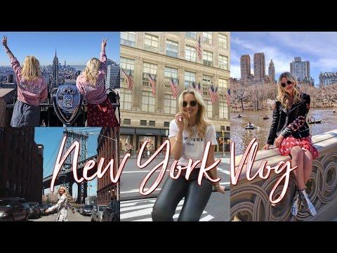 New York City Travel Vlog   April 2017
