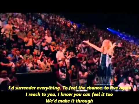 Celine Dion - I Surrender (with lyrics)