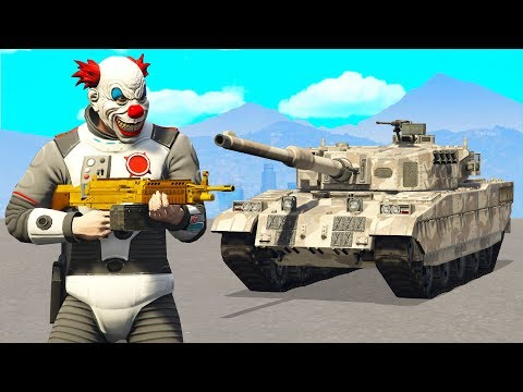 Bank Robbery But With A Tank.. (GTA RP)