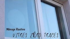 VITRES, MIROIRS ET PAROIS DE DOUCHE ZÉRO TRACES...Routine Ménage
