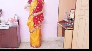 How To Drape Bengali Style Saree-Wear Bengoli Saree/Tie Bengali Sari/Wrap/Carry