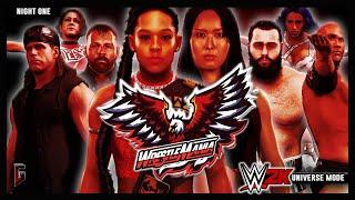 WWE 2K - Universe Mode - WrestleMania: Atlanta - Night 1 (241)