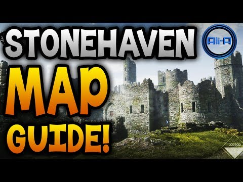"GHOSTS Map Guide - ""STONEHAVEN""! - Dynamic Gate, Houses & Best Spots! (Call of Duty Ghost)"