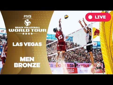Las Vegas 4-Star - 2018 FIVB Beach Volleyball World Tour - Men Bronze Medal Match