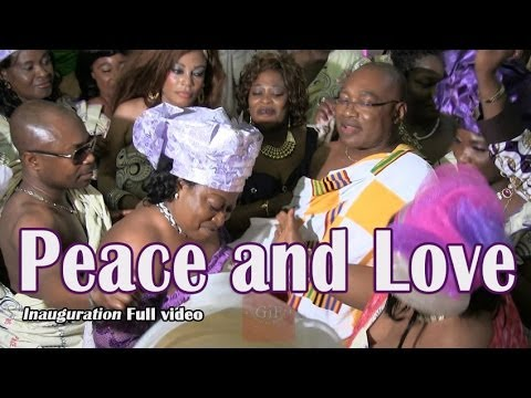 Full Video: Peace and Love Inauguration 1