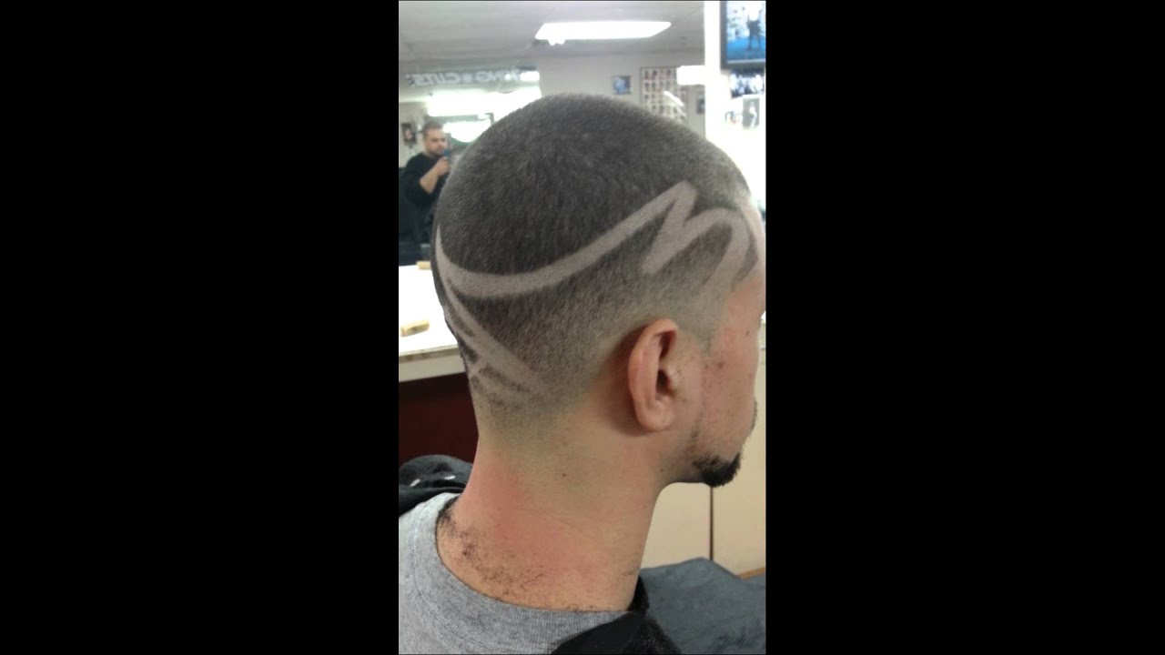 Freestyle designs at king cuts barbershop, ma. - YouTube