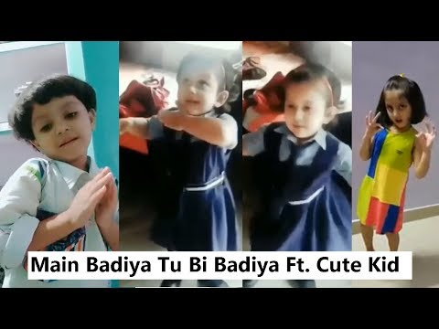Main Badhiya Tu Bhi Badhiya Cute Kids Dance Musically | Sanju | Viral Cute Girl