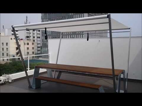 Innovative Contemporary Outdoor Design The Hopper Table And Seat ...