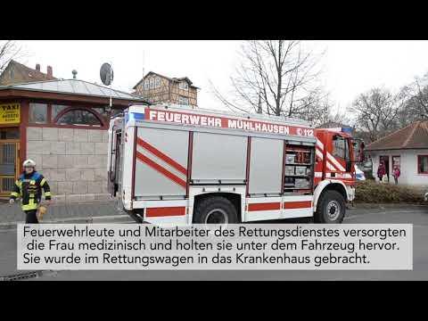 Schwerer Unfall in Mühlhausen