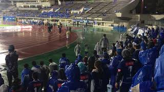 モンテディオ山形vs愛媛FC 終了後選手挨拶.