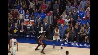 Robert Covington With The James Harden Illegal Travel