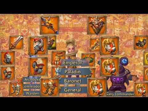 EMPEROR Mic C DESTROYS 1.1 BIL PLAYER Lords Mobile