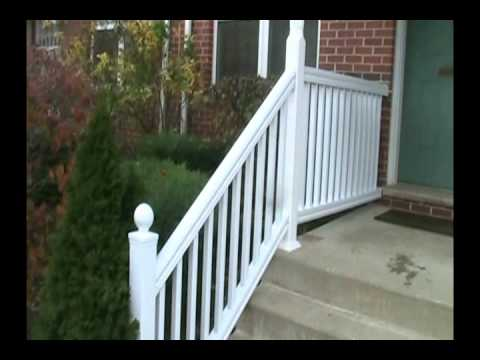 Vinyl Railings And Front Awning Restoration   YouTube