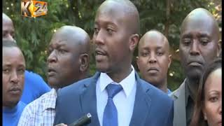 MURANG'A WATER WARS: County assembly chief whip Simon Mwea arrested as dispute escalate