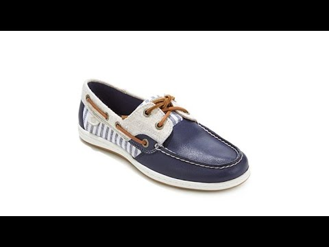 Sperry Koifish Leather And Textile Boat Shoe