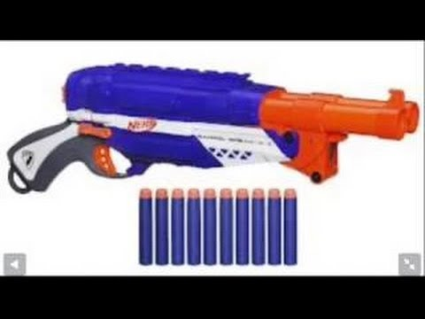 NERF Elite Barrel Break Unboxing and Review - YouTube