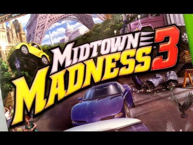 Classic Game Room - MIDTOWN MADNESS 3 review for Xbox