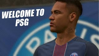 FIFA 17: NEYMAR JR. Welcome To PSG ● SUPER GOALS & SKILLS 2018 ● 60fps by Pirelli7