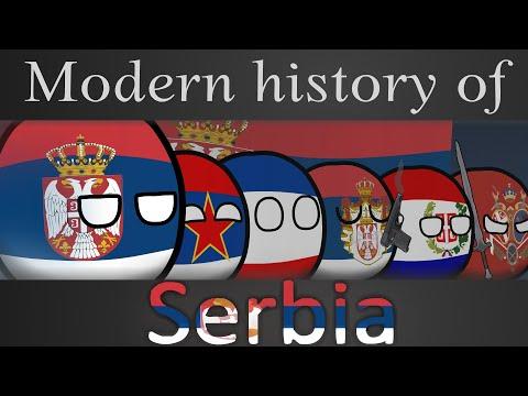 Countryballs   Modern history of Serbia  (Full)