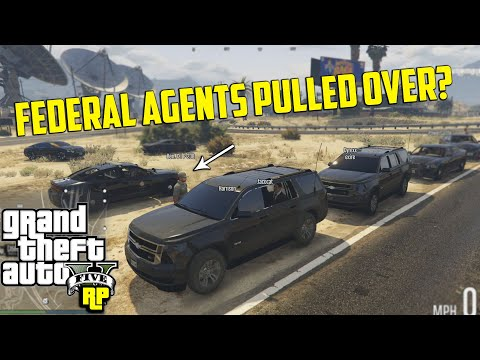 FEDERAL AGENT GETS PULLED OVER! (GTA RP)