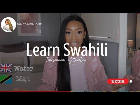 Learn To Speak SWAHILI In 5 MINS !! Ft Nadula Hair