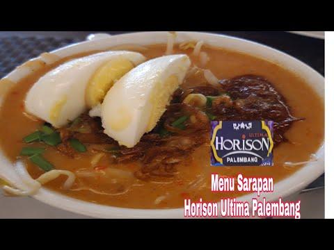 Review Menu Sarapan Hotel Horison Ultima Palembang| pvlog #trippart2