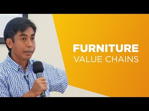 Herry Purnomo on furniture value chains