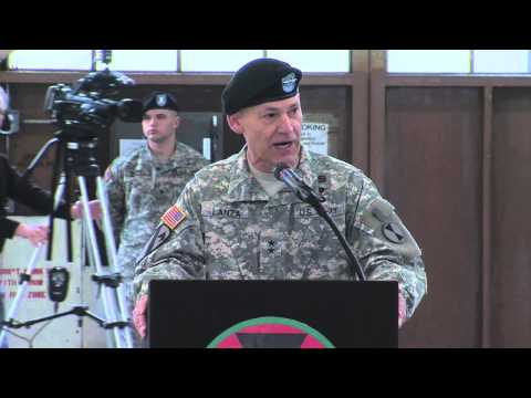 7th Infantry Division Change of Command