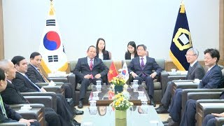 Tin Tức 24h : Phó Thủ tường Thường trực Trương Hòa Bình thăm Hàn Quốc