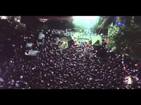 Myanmar elections 2015: NLD party in the streets (drone video) | Coconuts TV