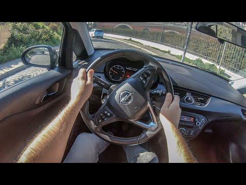 Opel Corsa E | 4K POV Test Drive #306 Joe Black
