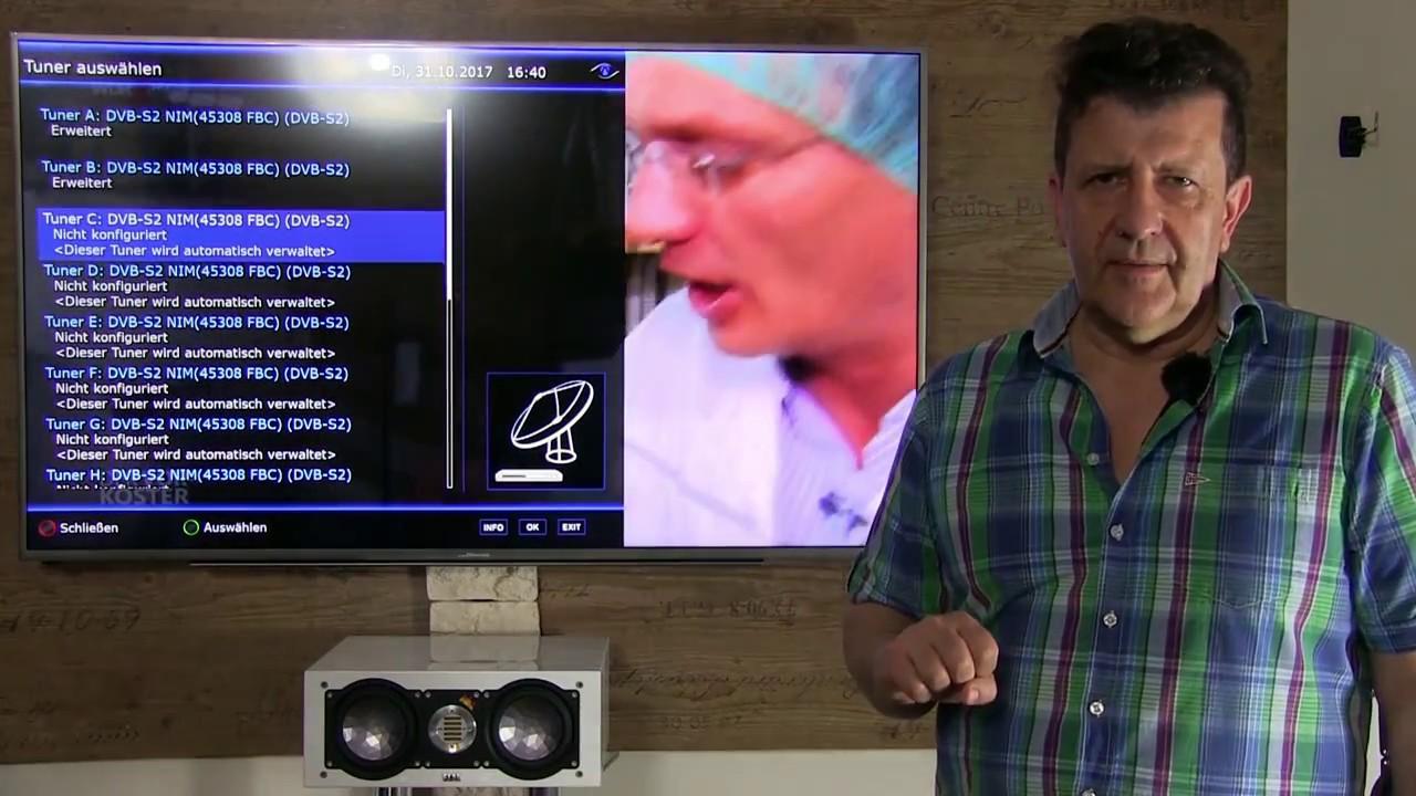 gigablue uhd ue 4k  GigaBlue UHD UE 4K - YouTube