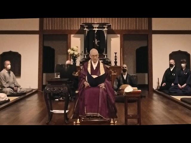 Dai Bosatsu Obon Teisho by Shinge Roshi, 8.14.2021