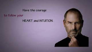 Gambar cover STEVE JOBS QUOTES //The APPLE co founder's famous quotes//