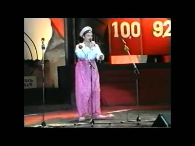 Смотреть видео КВН-1991, НГУ, 3 пародии на Газманова