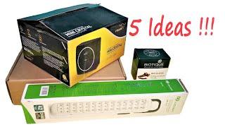 5 Easy and Useful Organizer Ideas From Waste Cardboard Box !!!