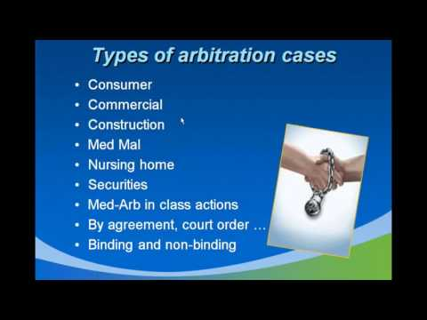Types Of Arbitration And Their Importance