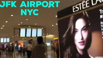 JFK-John F. Kennedy International Airport ||Arrivals Terminal 4