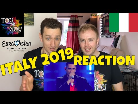 Italy Eurovision 2019 Reaction - Review - Mahmood - Soldi