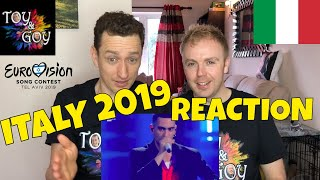 Italy Eurovision 2019 Reaction - Review - Mahmood - Soldi - #8