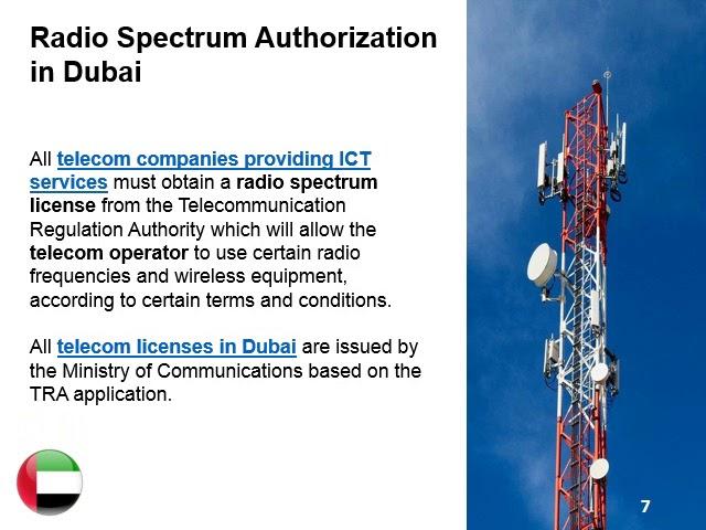 Open a Telecom Company in Dubai