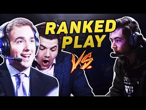 HILARIOUS RANKED PLAY MATCH vs COURAGE & MERK!
