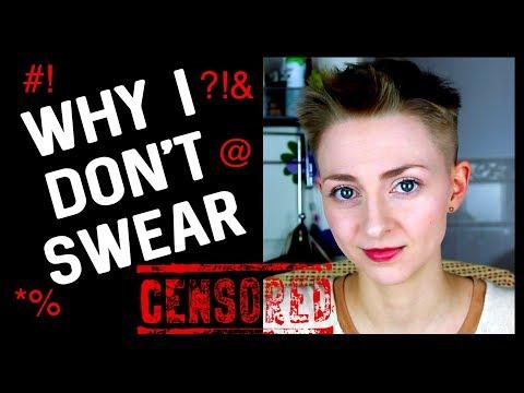 WHY I DON'T SWEAR/CURSE 🚫😡💢👿