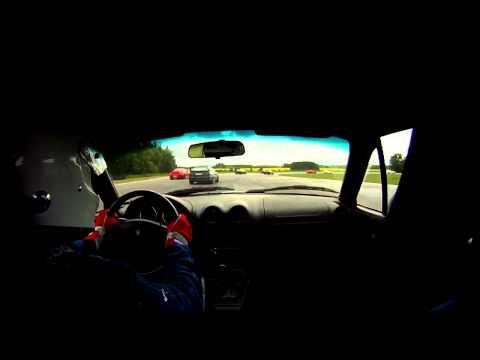 GR: 10 Cars Into Mjölby corner @ Mantorp 2011-05-27